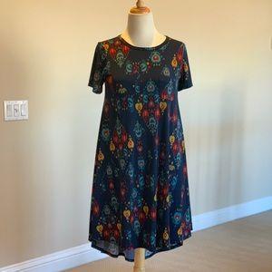 LuLaRoe High Low Carly Dress Size XS